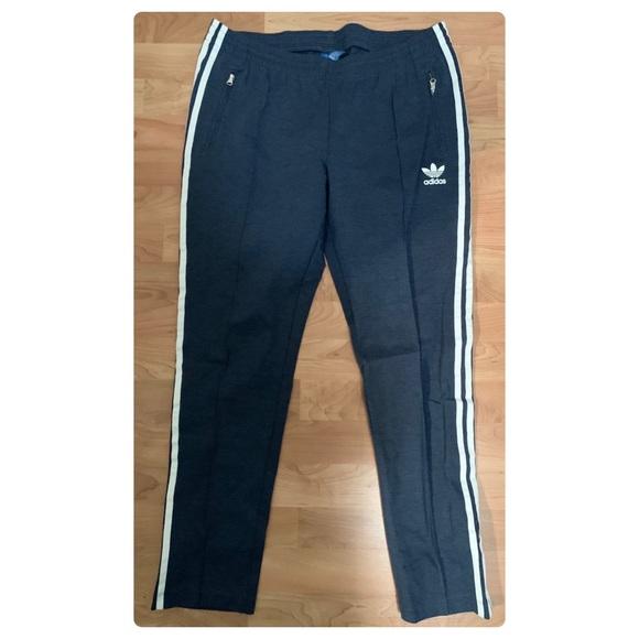 Pantalons bleus Adidas
